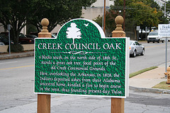 Exploring Oklahoma History: Creek Council Oak