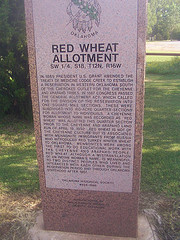 Exploring Oklahoma History: Red Wheat Allotment
