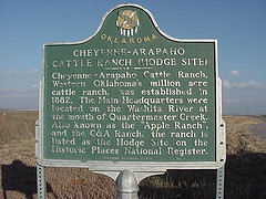 Exploring Oklahoma History: Cheyenne-Arapaho Cattle Ranch (Hodge Site)