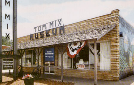 Exploring Oklahoma History: Tom Mix Museum