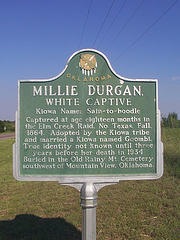 Exploring Oklahoma History: Millie Durgan