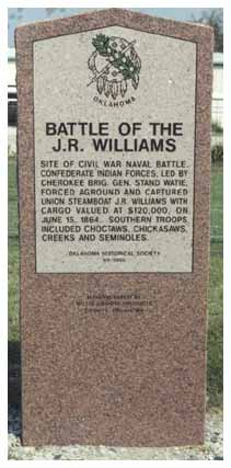 Exploring Oklahoma History: Battle of the J.R. Williams