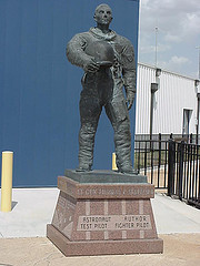 Exploring Oklahoma History: Thomas P. Stafford Statue